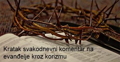 Komentar na evanđelje