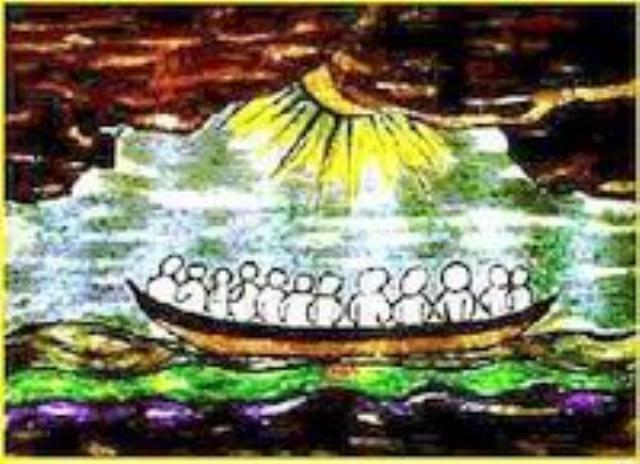 Stišana oluja - crtež: LOGO Vjere i svjetla